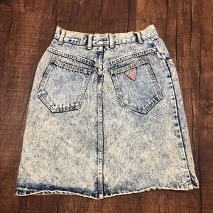 361d4ac7f Women Vintage Guess Denim Skirt on Poshmark